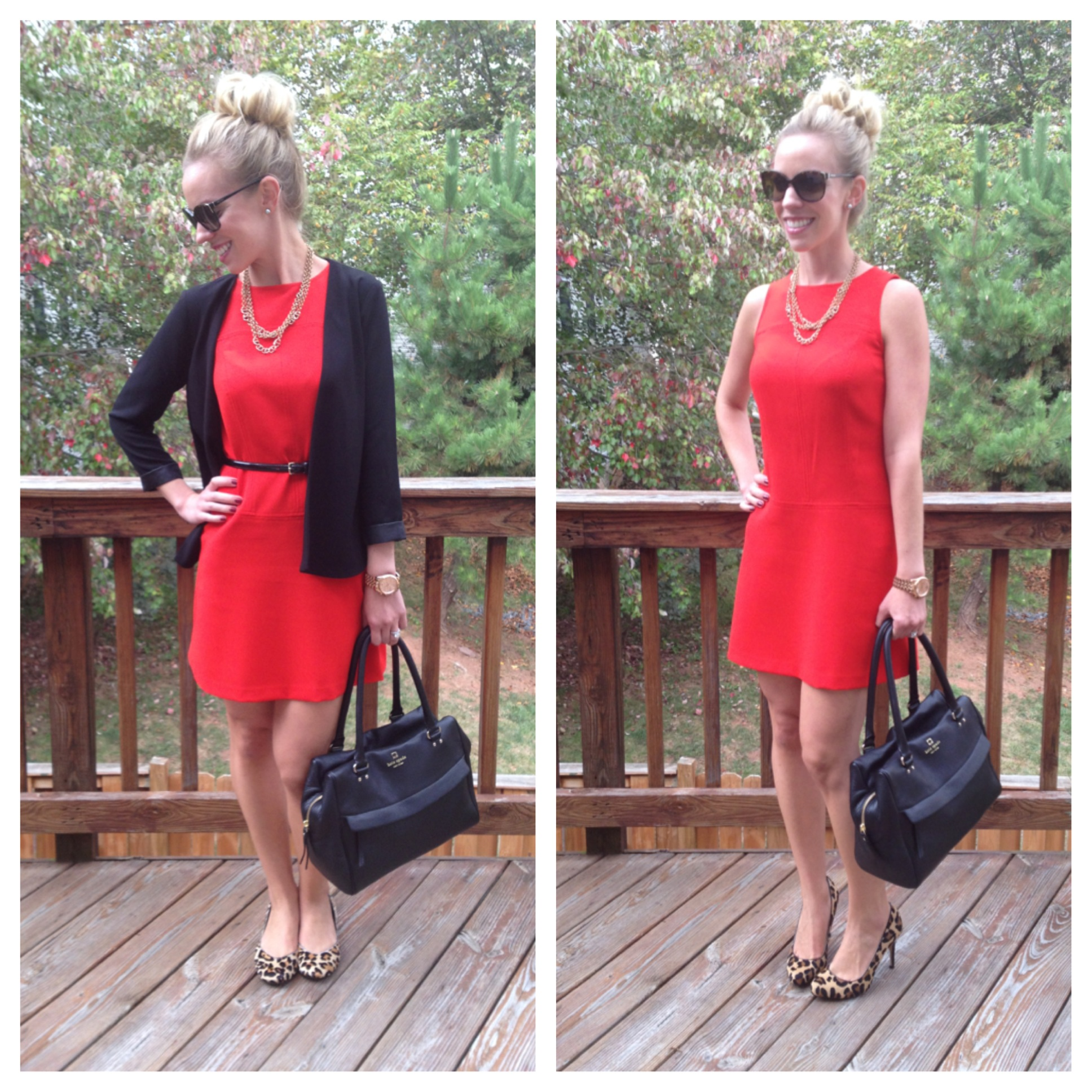 Day to Night: Red Dress } - Meagan\'s Moda