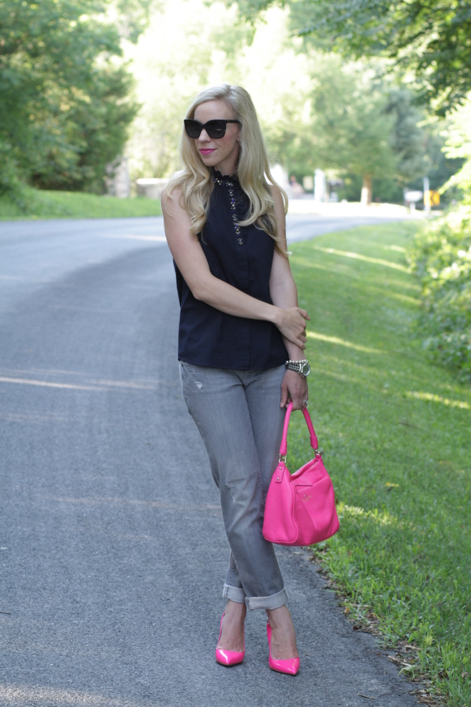 Gray Jeans Womens