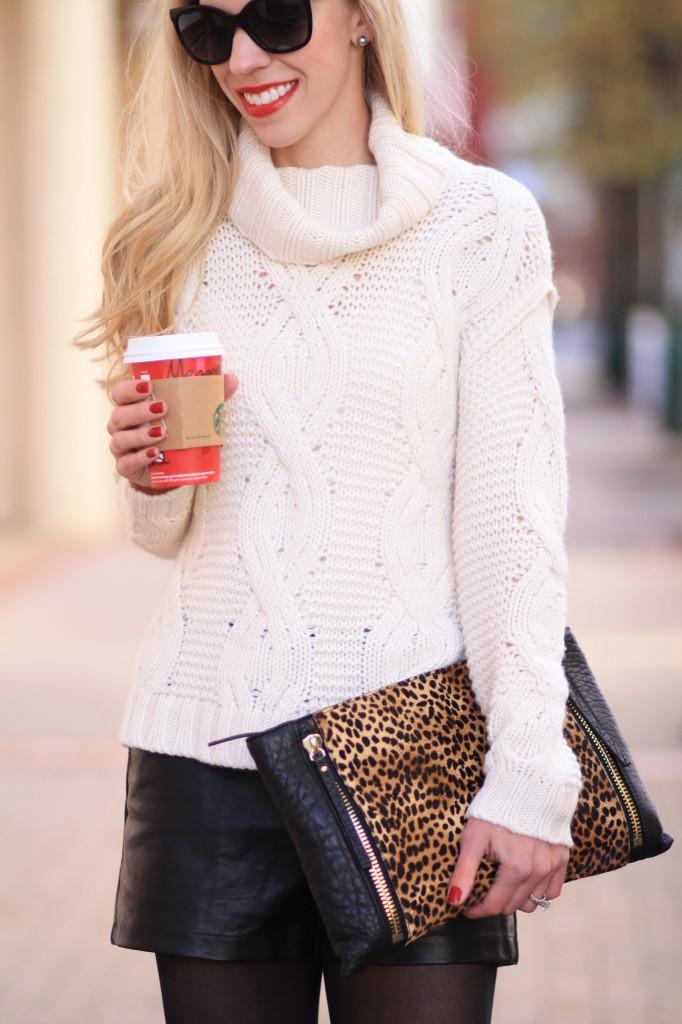 Winter White Cashmere Sweater Sweater Winter White