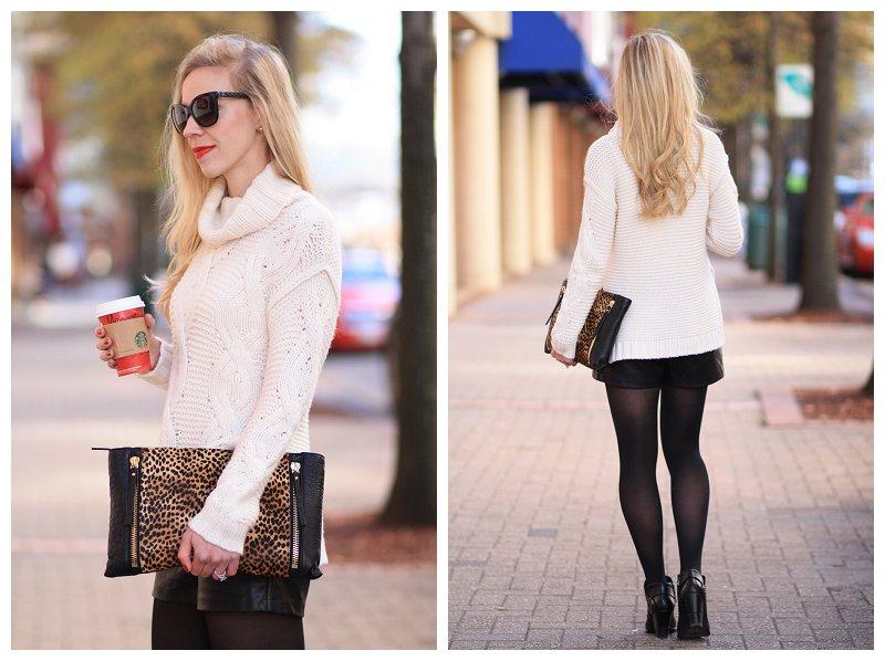 Winter White Cashmere Sweater Winter White Sweater With