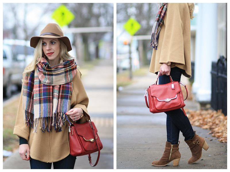 Red And Green Plaid Scarf Plaid Blanket Scarf Red