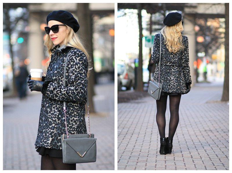 b92233c9b33e4 ... black LOFT blue snow leopard coat