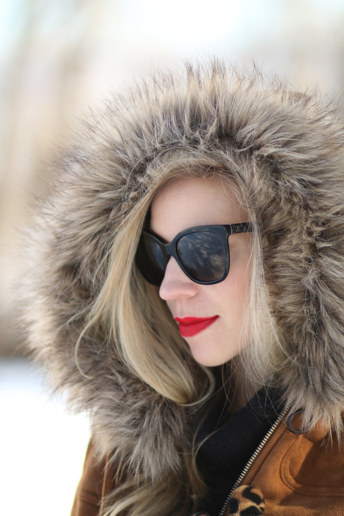 { Eskimo Style: Camel toggle coat, Distressed black denim ...
