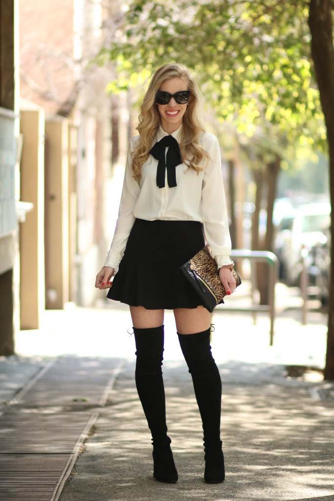 Winter Fashion Skirts And Boots