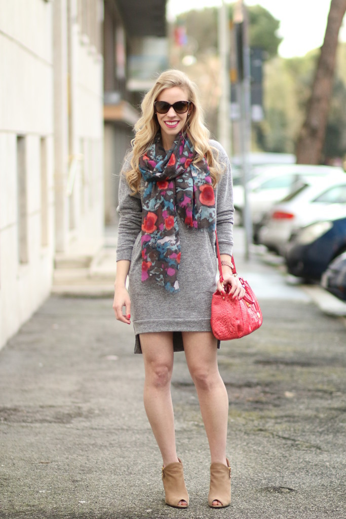 open toe booties with dress