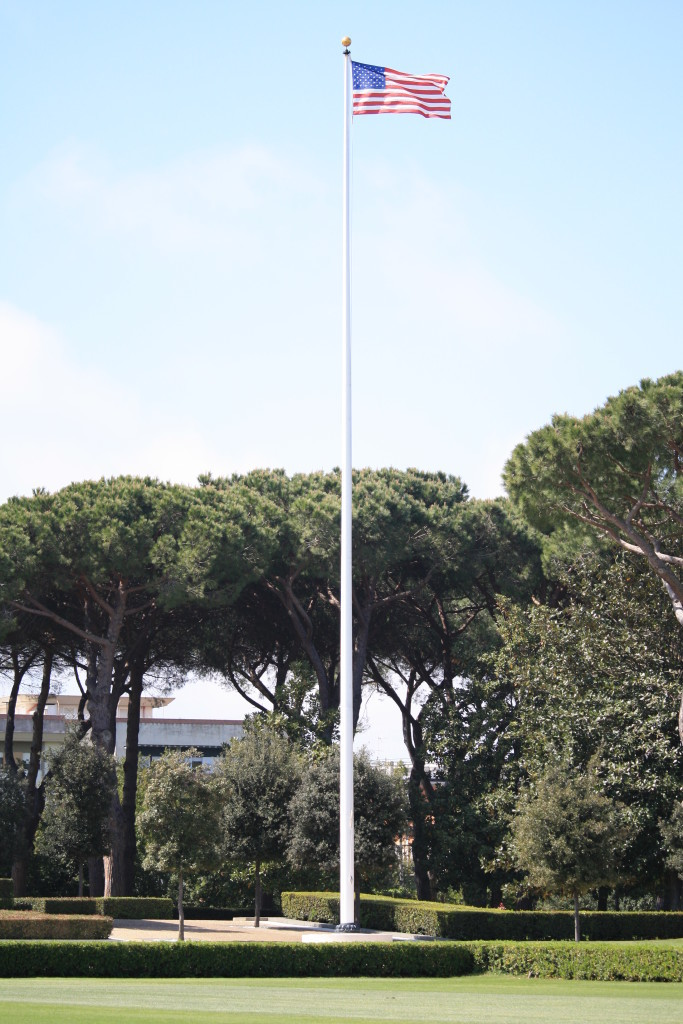 American flag photography, Sicily-Rome American Cemetery, Nettuno Italy
