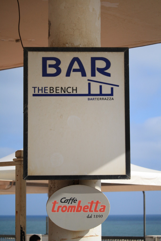 Bar at Nettuno Beach, Italy, Italian fashion and travel blogger