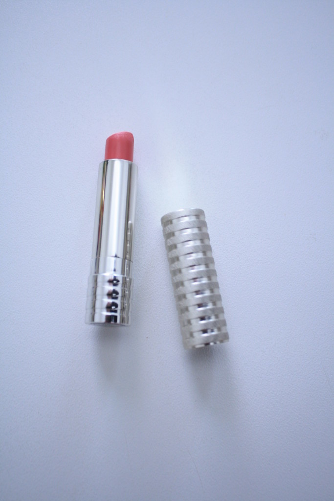 Clinique soft matte lipstick Petal review, soft pink lipstick for spring