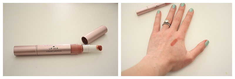 Laura Geller 'French Kiss' rose liquid lipstick, how to apply liquid lipstick