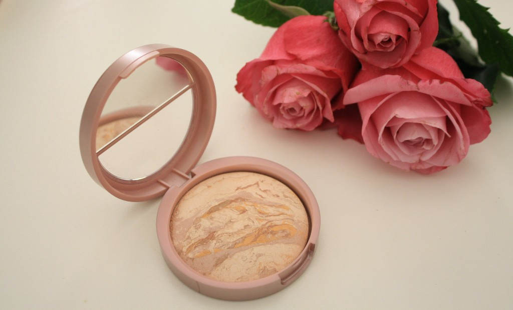 Laura Geller balance n brighten color correcting baked powder foundation, how to apply Laura Geller baked powder foundation