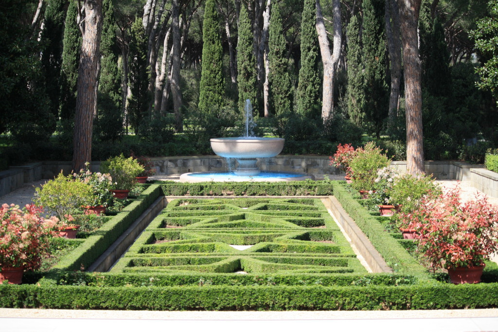 North garden at Sicily-Rome American Cemetery, Nettuno Italy, Italian fashion blogger and travel writer