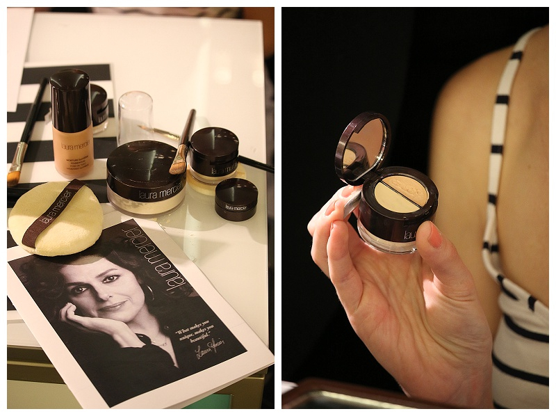 Laura Mercier secret camouflage undercover pot, how to apply concealer using brush