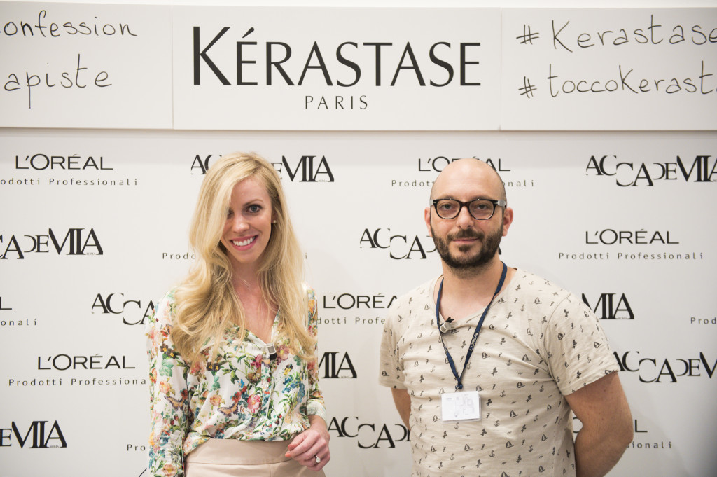 Kerastase Accademia Roma blogger event, L'oreal Paris