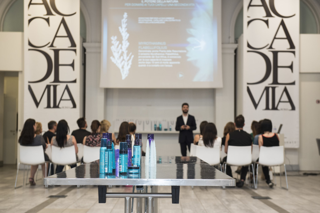 L'Oreal Accademia Roma, blogger event Kerastase Therapiste