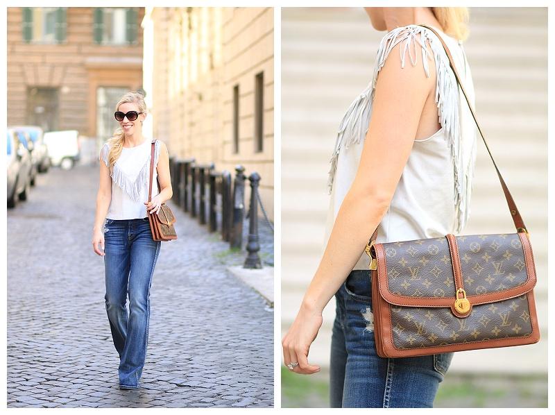 119db0d5abd0 vintage 1970s Louis Vuitton Passy shoulder bag