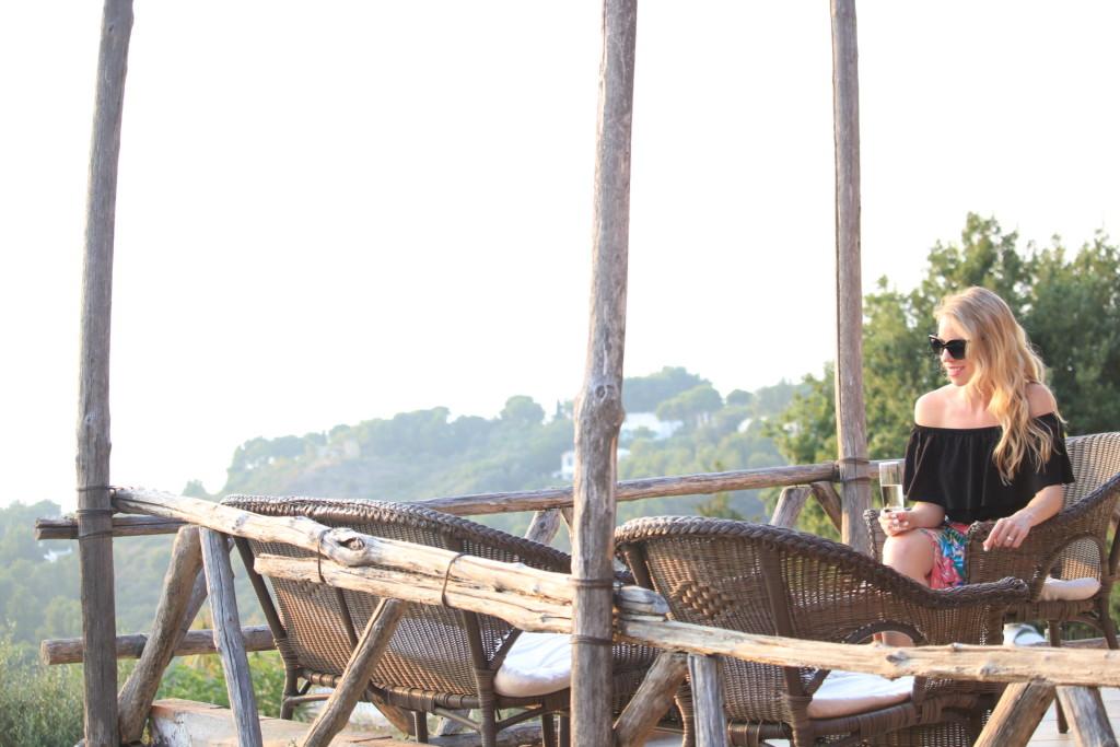 Capri Italy, Anacapri, travel blog, what to wear for island vacation