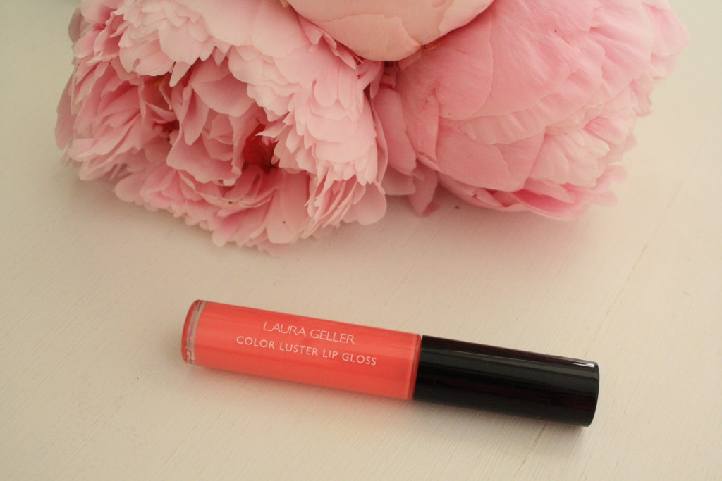 Laura Geller Color Luster lipgloss peach sorbet