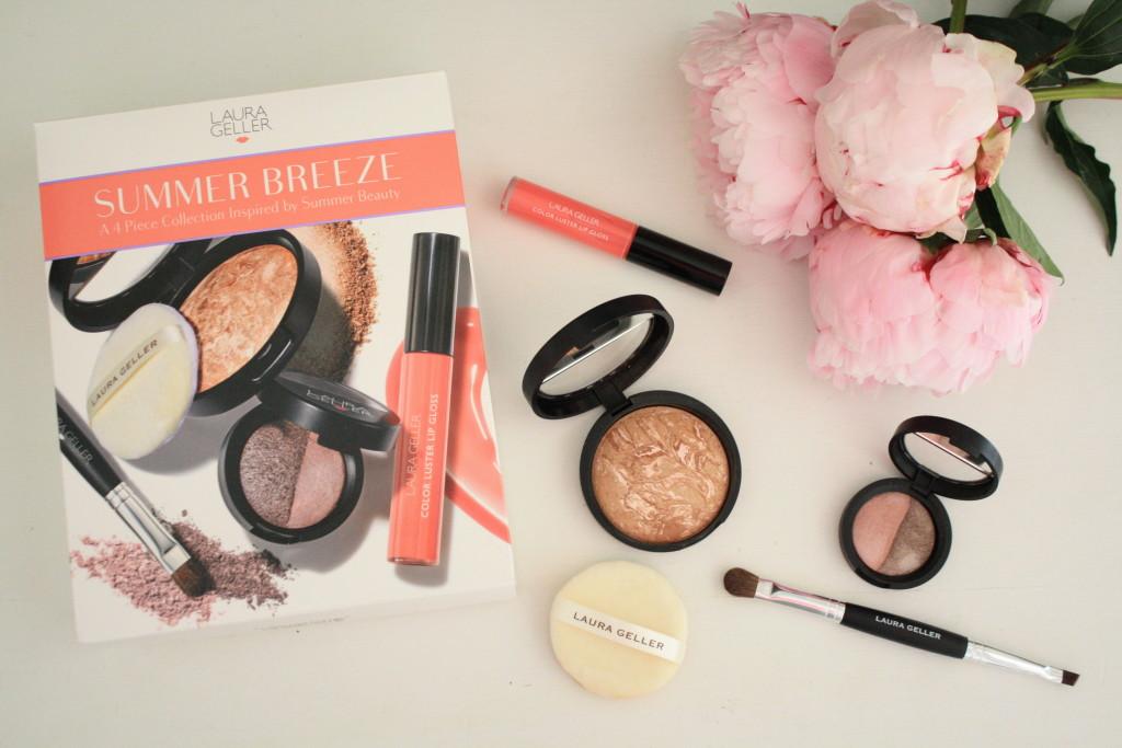 Laura Geller Summer Breeze beauty collection, Laura Geller beauty review, how to apply Laura Geller Tahitian bronzer