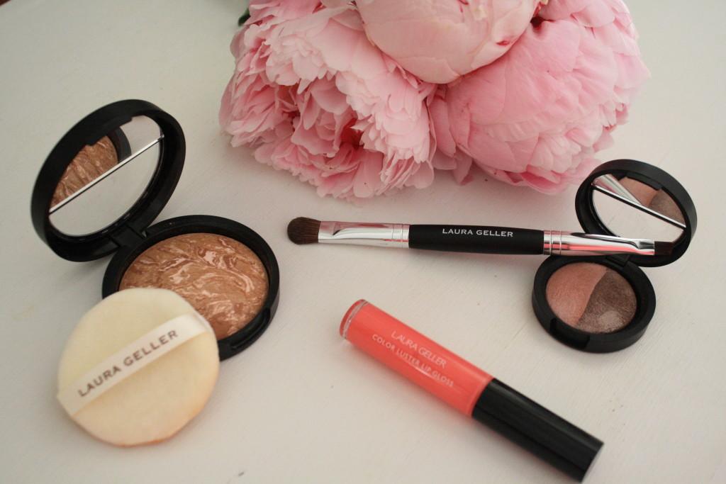Laura Geller Summer Breeze beauty collection review, how to apply Laura Geller summer makeup