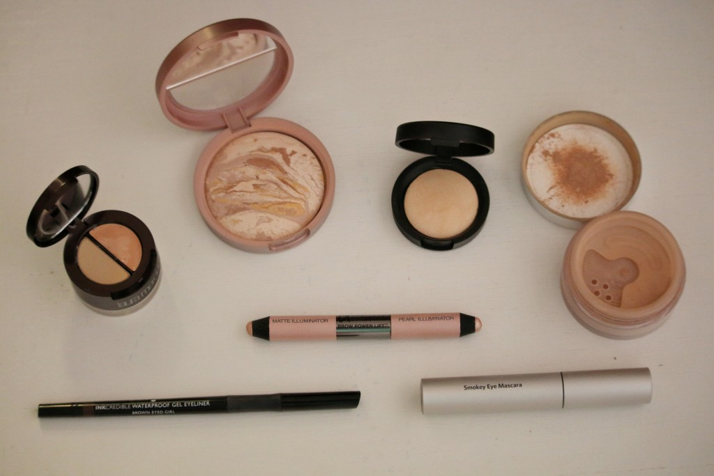 Laura Geller balance n brighten foundation, Laura Mercier undercover pot concealer, the best products for a bright complextion