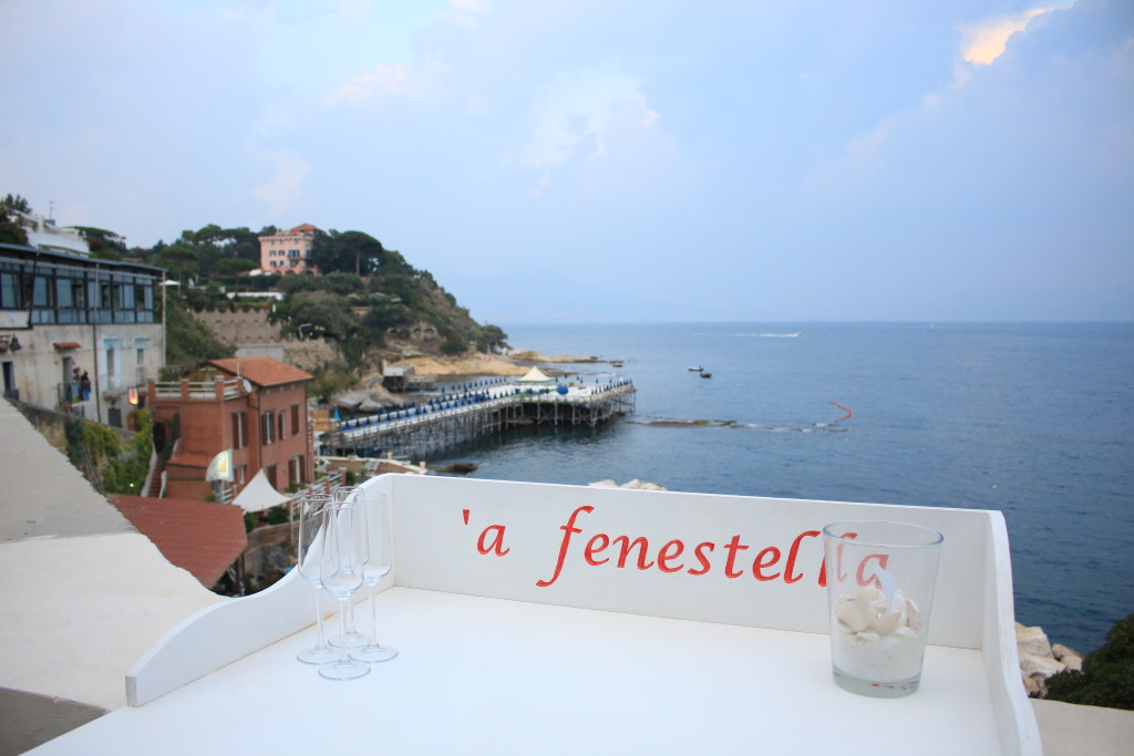 A Fenestella restaurant Marechiaro Naples Italy, travel blogger, best restaurants in Naples