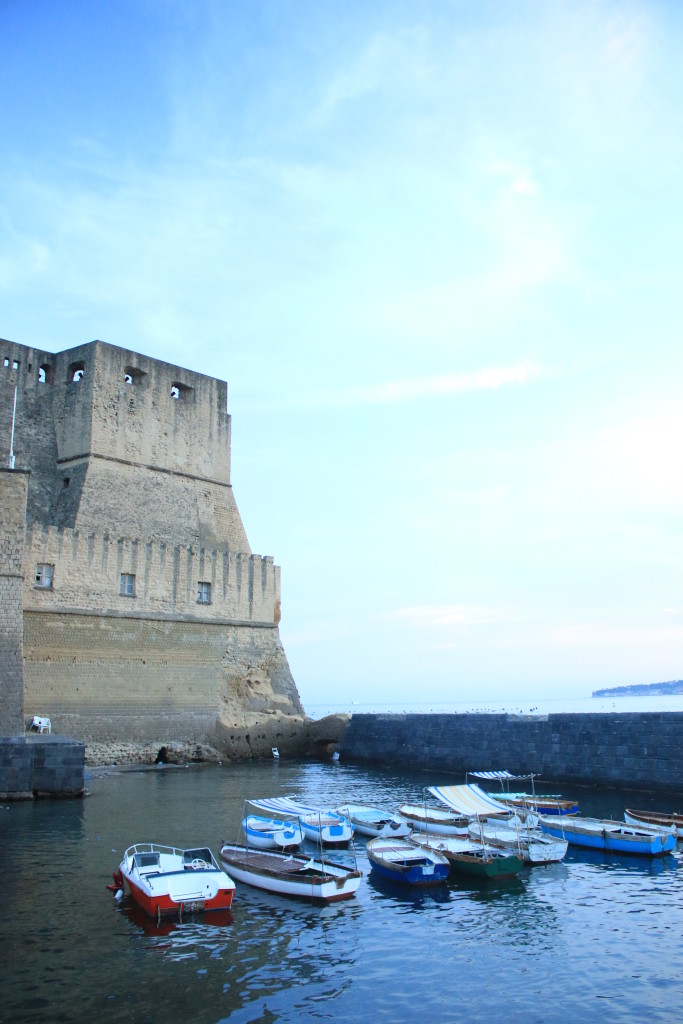 Castel dell'Ovo Naples Italy, photography, travel blogger