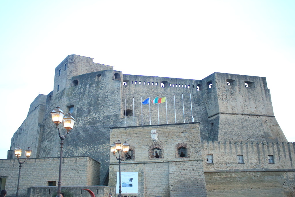 Castel dell'Ovo Naples, Italy, travel blog, Italian photography