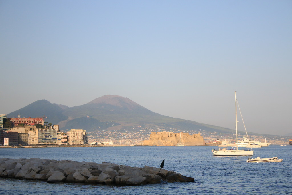 Napoli waterfront, castello in Naples Italy, photography, travel blog