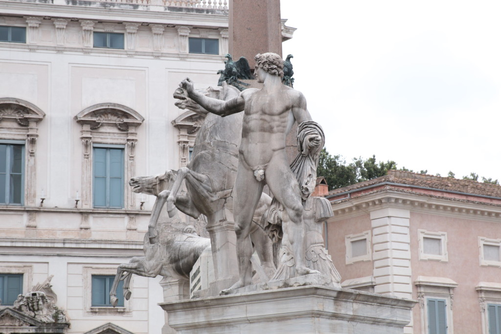 Piazza Quirinale Rome Italy, architecture photography, travel blog