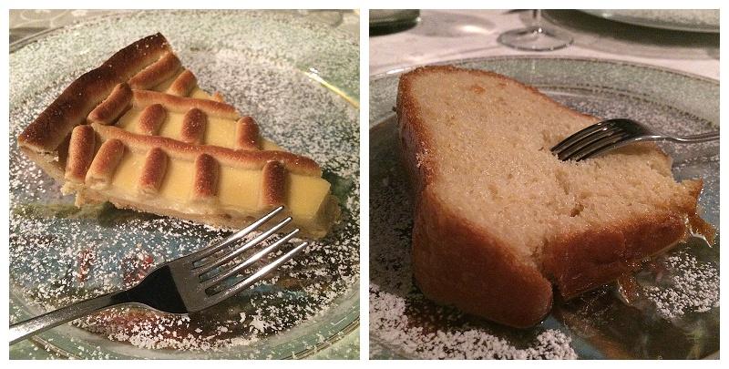 'a Fenestella ristorante Naples, Italy, travel blogger, traditional Neapolitan desserts