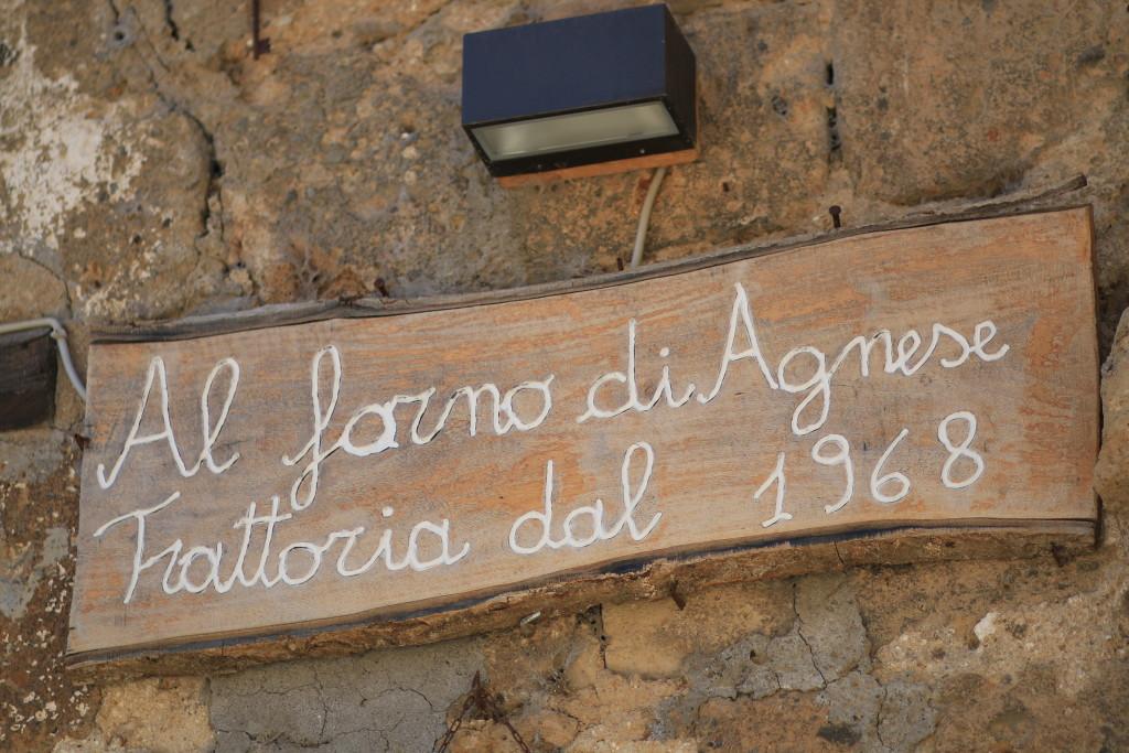 al forno di agnese trattoria ristorante, Civita di Bagnoregio, best place to eat, travel blog