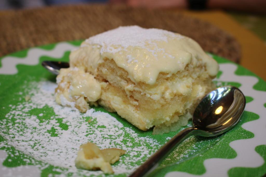 lemon cake, Italian dessert, travel blog
