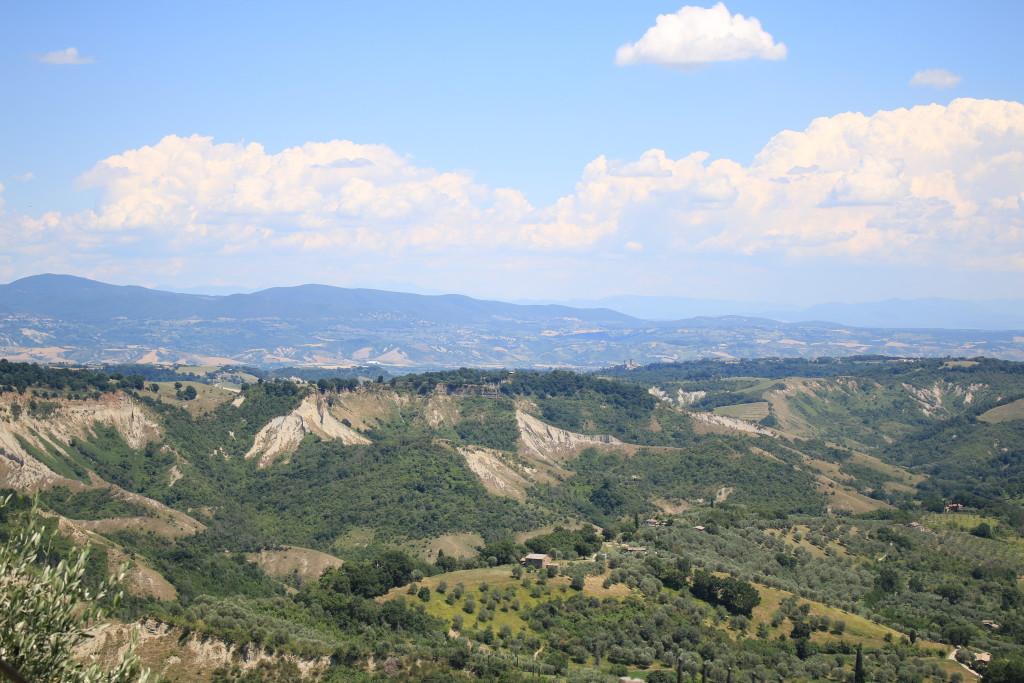 view from Civita di Bagnoregio, photography, Italian travel blog, Italian countryside