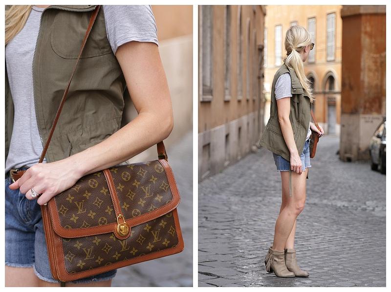 52d1e5573779c1 vintage Louis Vuitton  Passy  shoulder bag