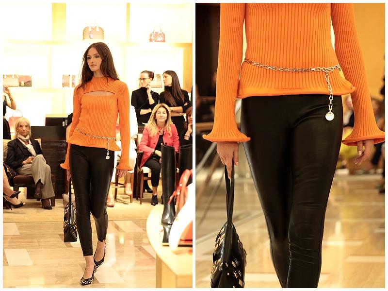 Louis Vuitton AW15 collection fashion show Rome Italy