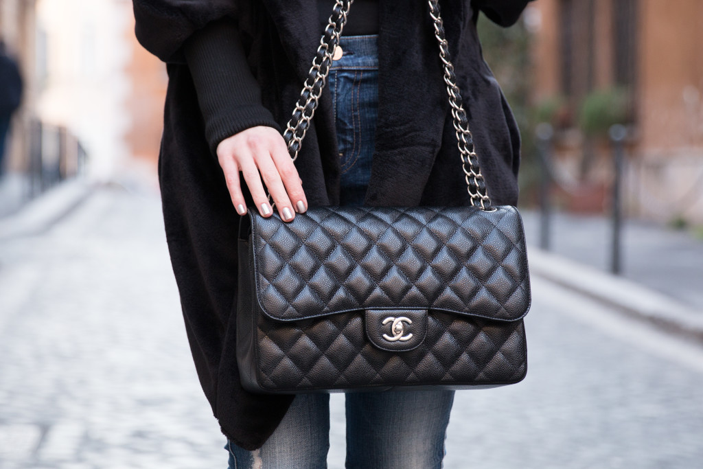 Image result for black handbags Chanel