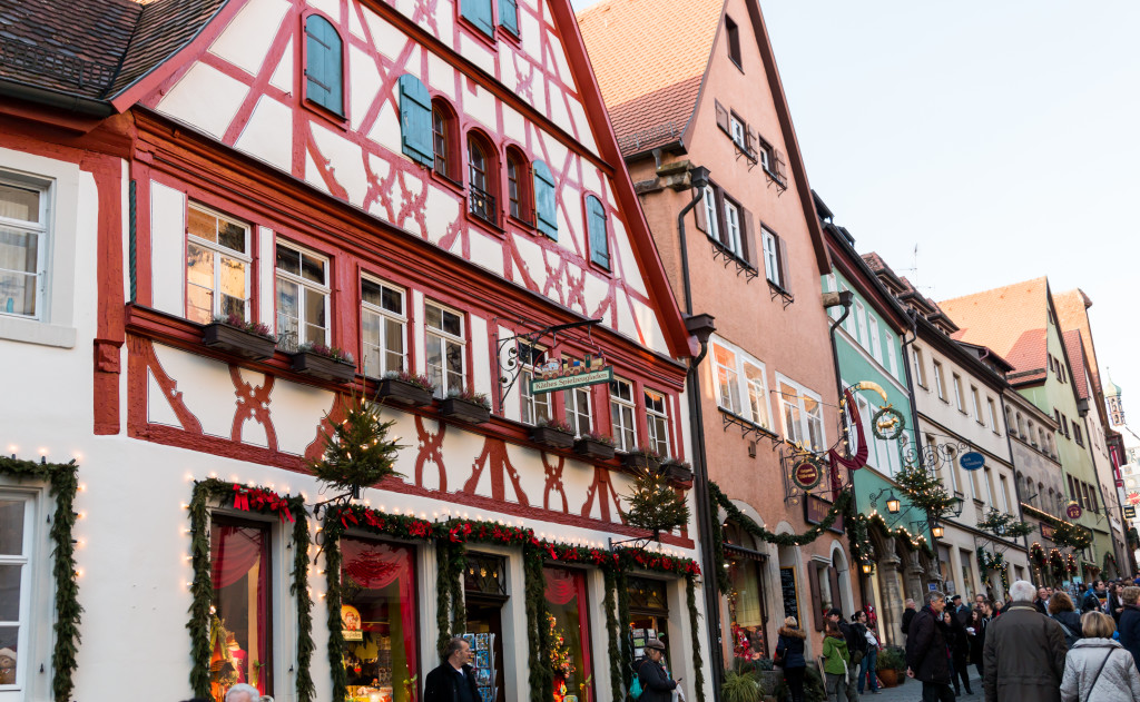 Christmas in Rothenburg Germany, travel blogger