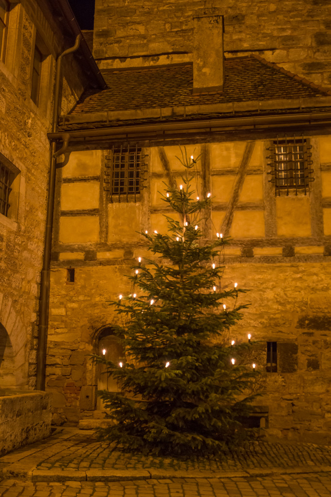 Rothenburg Germany, Christmas decorations, travel blog