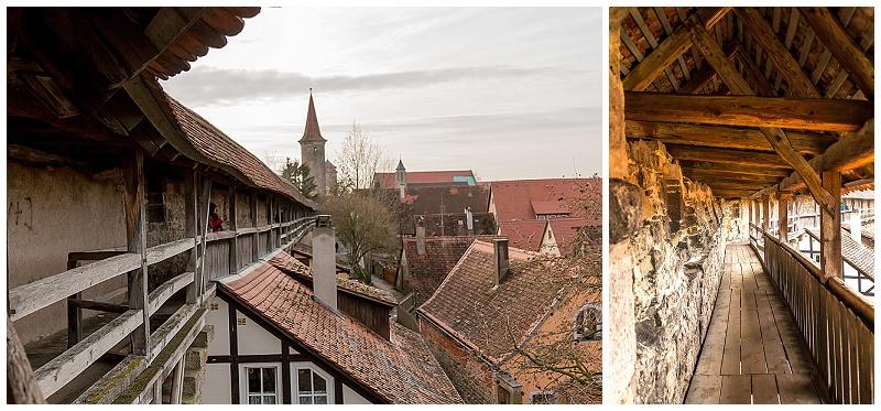 Rothenburg Germany wall, medieval village of Rothenburg, travel blogger