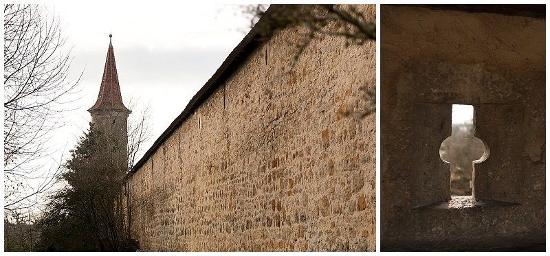 Rothenburg Germany wall