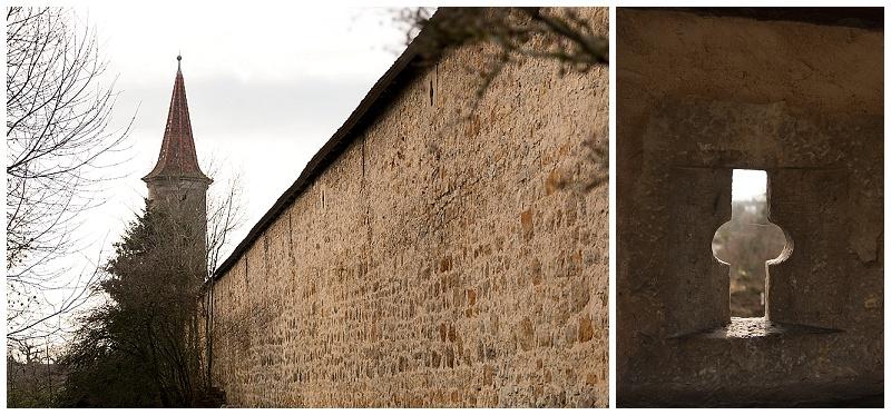 Rothenburg Germany wall