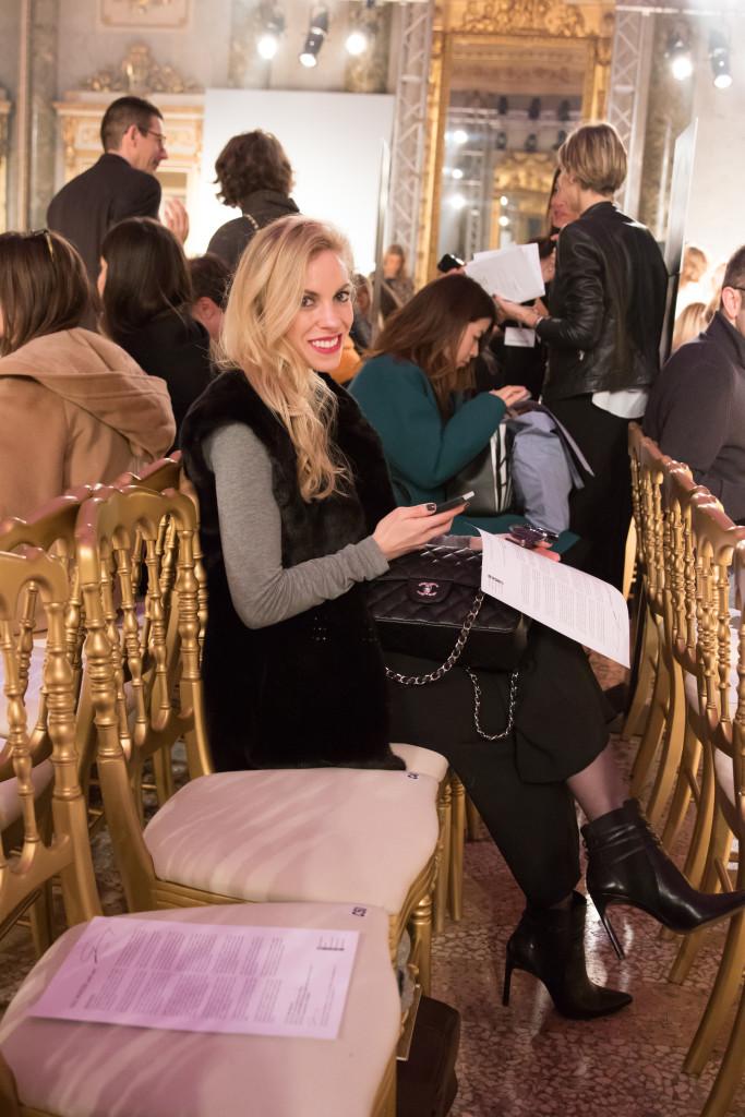 Genny fashion show Autumn Winter 16, Milan Fashion Week AW16, American fashion blogger