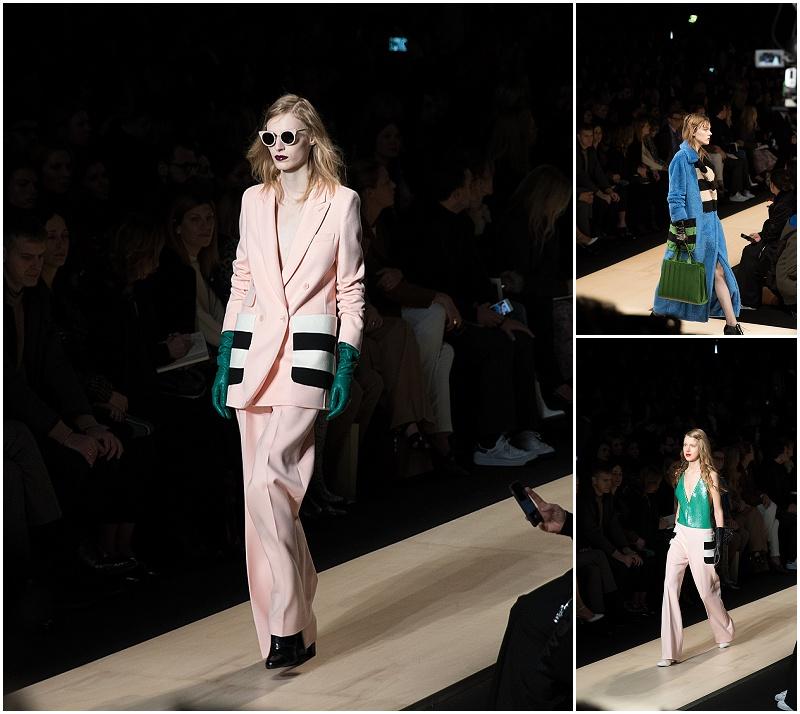 graphic stripes, Max Mara fashion week Milan autumn winter 2016