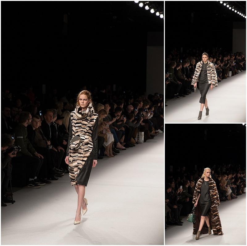 fur jackets, Aigner Munich Milan Fashion Week FW16 runway show