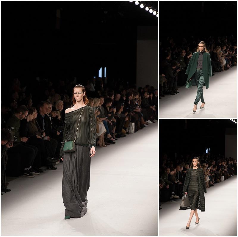 green accessories for fall, Aigner Munich fashion week Milan AW16