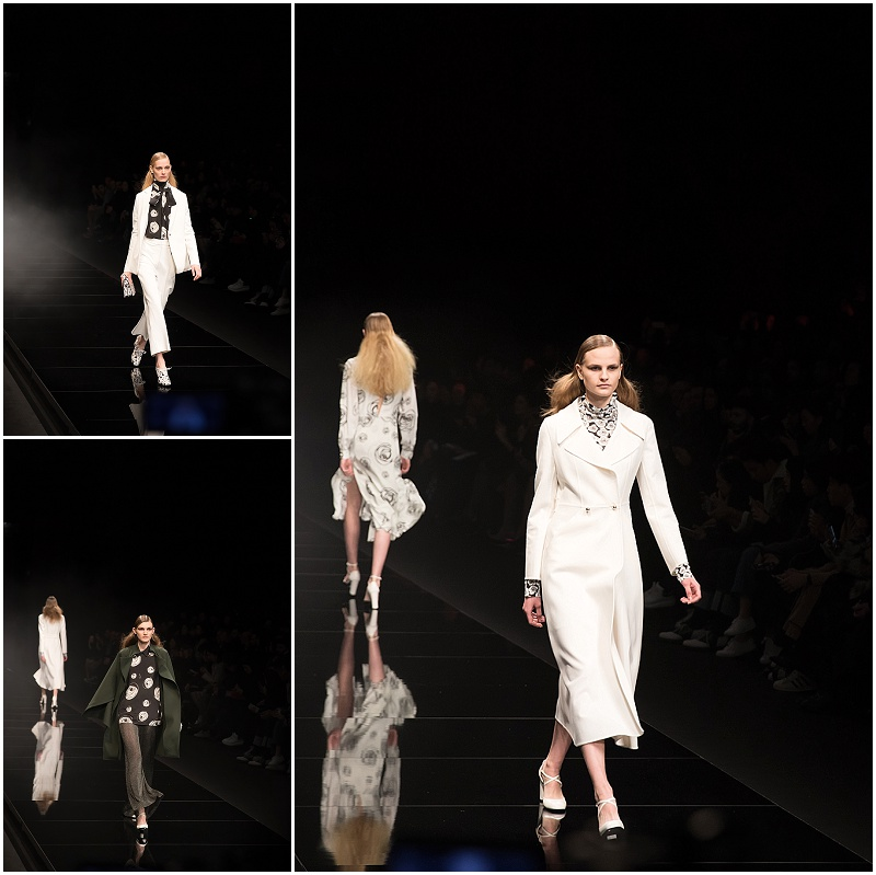 long white dress, contemporary, Anteprima Milan Fashion Week FW16