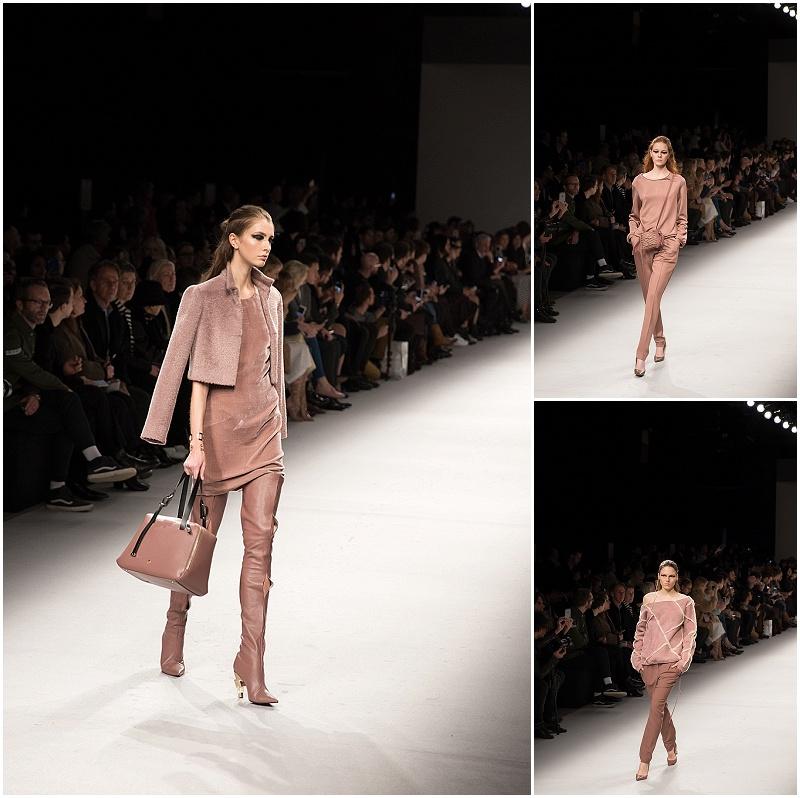 monochromatic looks, Aigner Munich, Milan Fashion Week AW16 runway