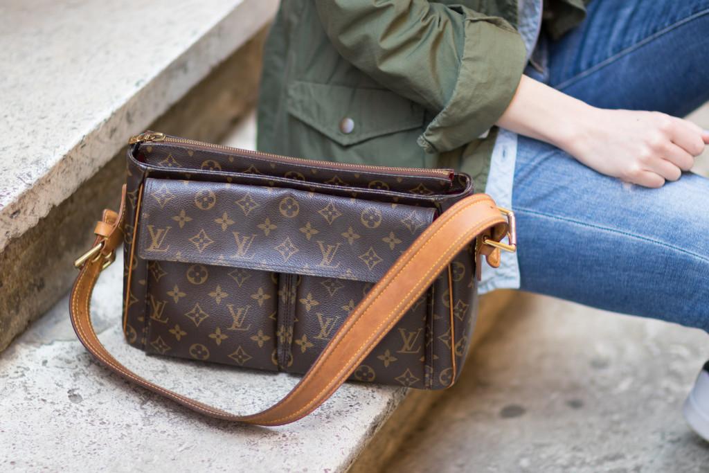 vintage Louis Vuitton Passy shoulder bag