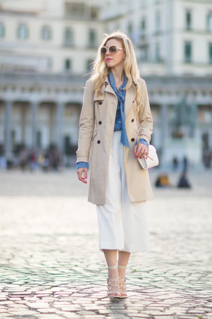 2c36712e8d3 Ann Taylor khaki trench coat