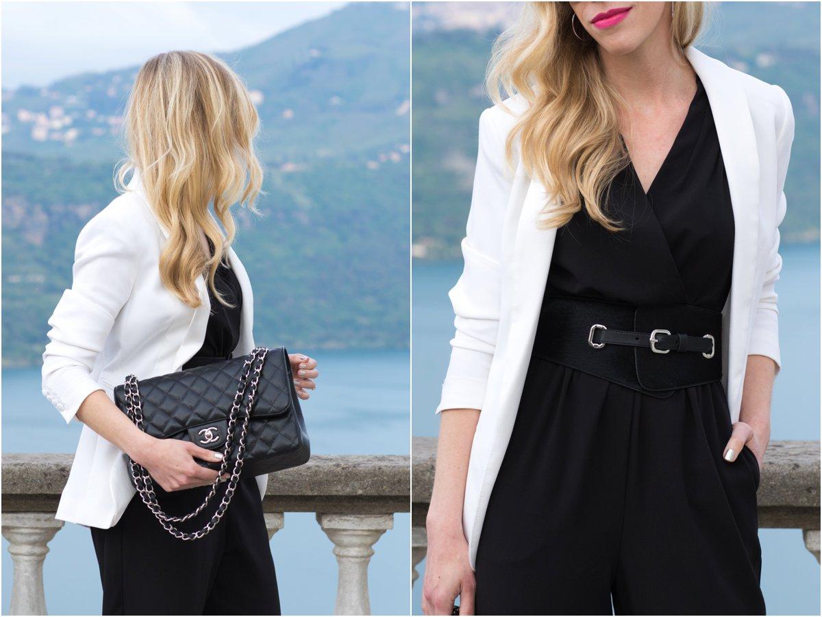 12adfd7ed7fb Chanel Jumbo classic flap bag black caviar leather with silver hardware